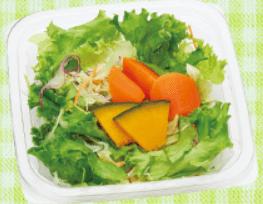 サラダを食べる健康習慣